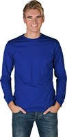 Shirt blue (long sleeves)