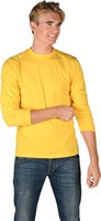 Shirt yellow (long sleeves)