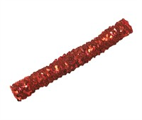 Red sequinned headband
