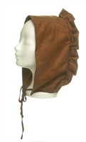 Medieval bonnet brown, one size