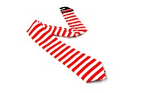 Tie stripes red/white