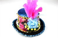 Top Hat flowers turquoise