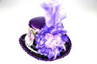 Top Hat flowers purple