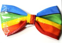 Bow tie stripes multicolor
