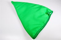 Kabouter muts groen, one size (H=40 cm)