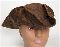 Hat pirate brown