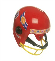 American Footballhelm, rot (Kind)