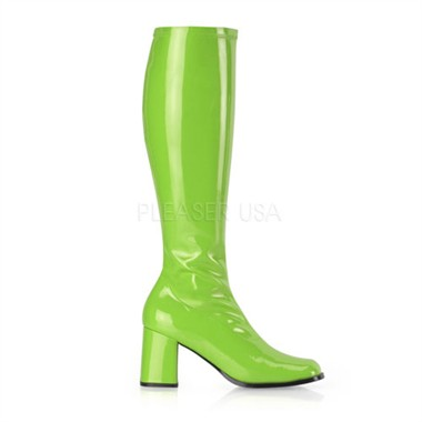 Stretch boots green