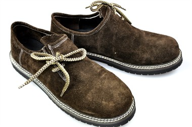 Traditional shoes Oktoberfest dark brown