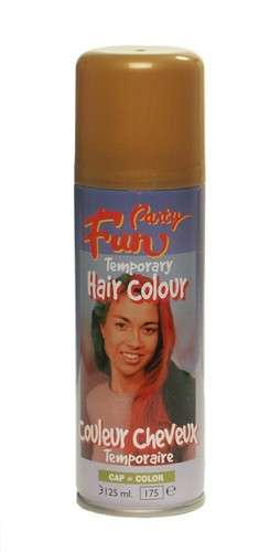 Haircolour-Spray Gold