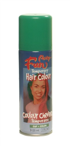 Haircolour-spray groen (125 ml)