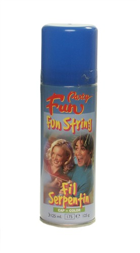Funstring-Spray Blau (125 ml)