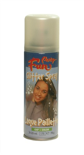 Glitter-spray multi (125 ml)