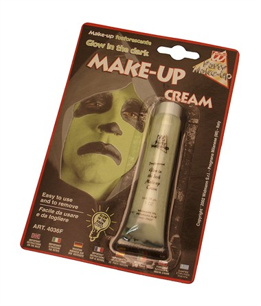 Glow in the dark make-up tube Halloween