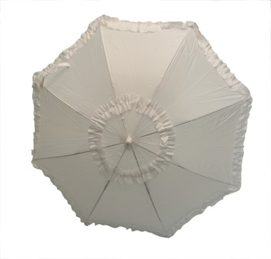 Victorian umbrella white (L=72 cm, Ø=72 cm)