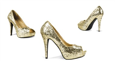 Shoes gold Allure