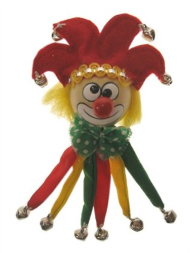 Broche clown r/g/gr.