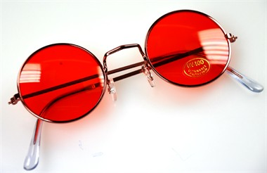 Glasses red Lennon