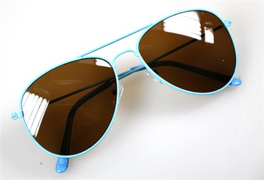 Brille Blues Brothers neon blau