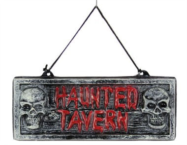 Decoratie taverne halloween