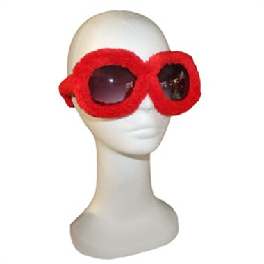 Brille rot Party