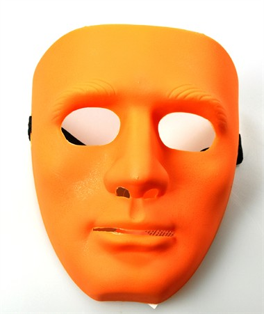 Maske orange