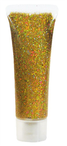 Glitter gel goud 18ml