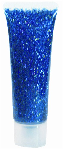 Glitter gel blauw 18ml