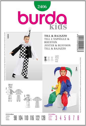 Burda pattern: Till/Bajazzo (child)