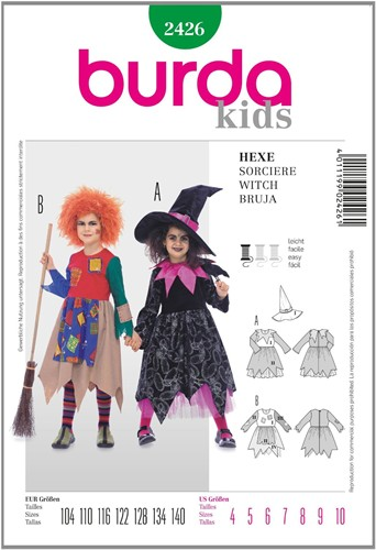 Burda pattern: witch (child)