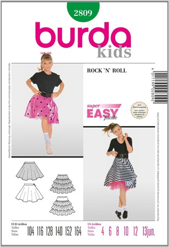 Burda patroon: Rock 'n Roll (kind)