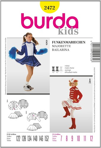 Burda patroon: dansmarietje (kind)