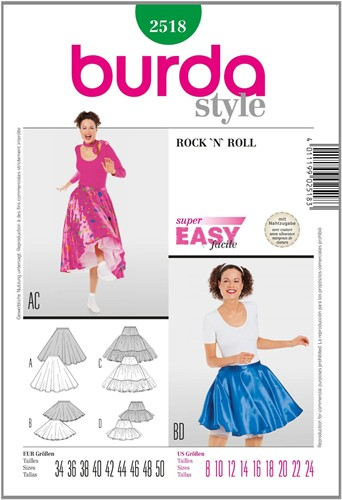 Burda Schnitte: Rock 'n Roll