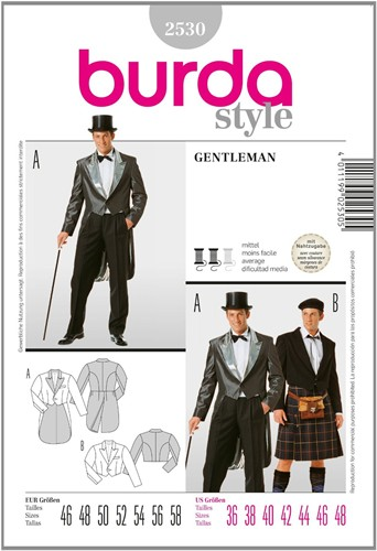 Burda patroon: gentleman