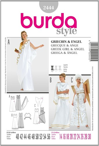 Burda pattern: Greek woman/angel