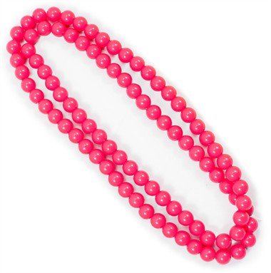 Ketting neon pink 100cm
