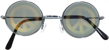 Glasses hologramm peace