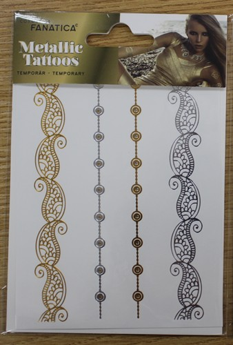 Metallic tattoos klein