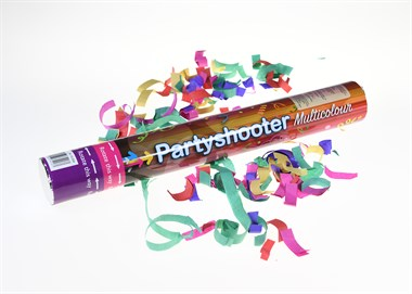 Party shooter paper 80cm colorful