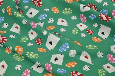 Polyester Poker 150cm breed