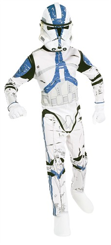 Clonetrooper Boxset Child  (Anzug,Maske)