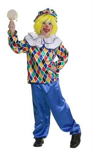 Clown Joeri (broek/blouse)