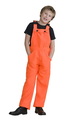 Neon Orange work trousers