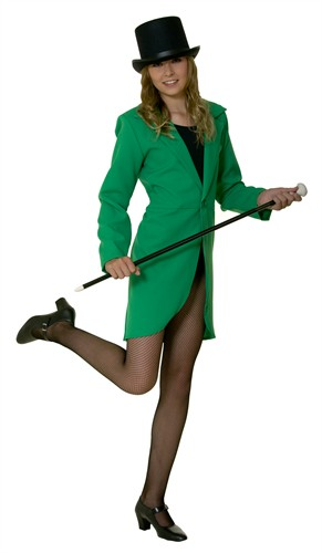 tailcoat green