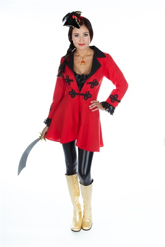 Pirate coat red