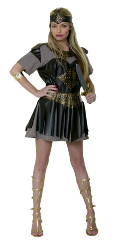 Gladiator Girl Aleda ( Kleid,Stirnband)