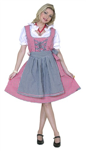Tyrolean Paula Oktoberfest (dress,apron)