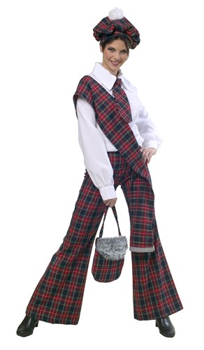 Scottish girl's trousers