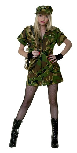 Sexy military (dress)