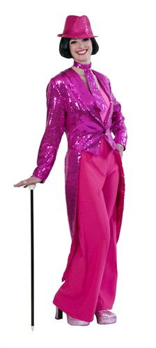 Sequinned  tailcoat pink  luxury